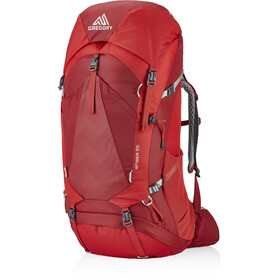 Gregory Amber 55 Backpack Dame sienna red
